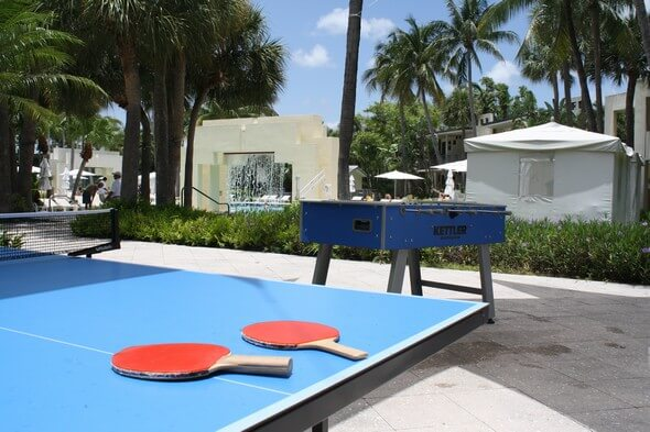 Backyard games at Hyatt Regency Pier Sixty-Six