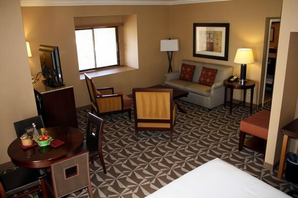 Guestroom at Hyatt Westlake Plaza