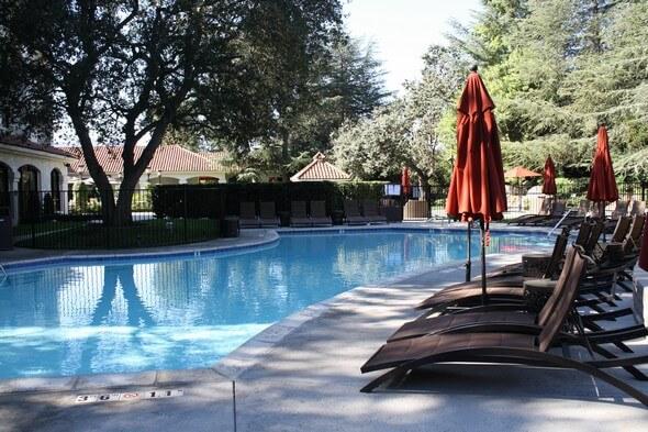 Poolside Hyatt Westlake Plaz