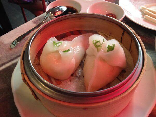 Dumplings, Luckee Restaurant, Soho Metropolitan Hotel, Toronto, ON Canada