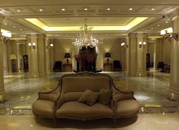 Athens hotel lobby