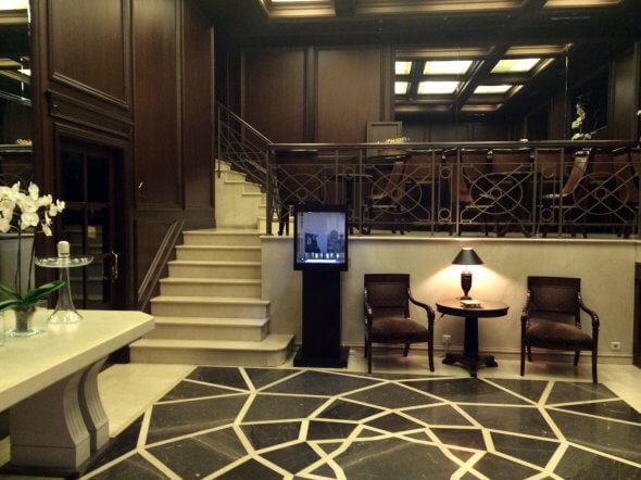 lobby Athens Hotel