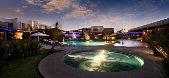 The sun sets on the magical Lunacanela Hotel & Spa