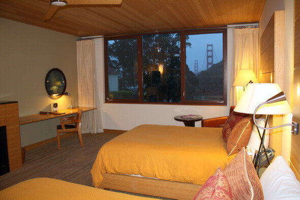Cavallo Point Lodge Contemporary Guest Room