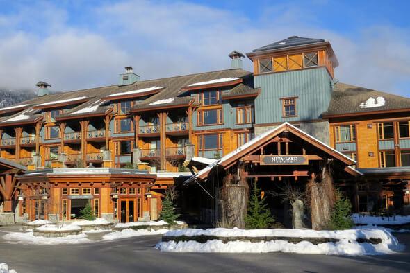 Nita Lake Lodge Arrival Area