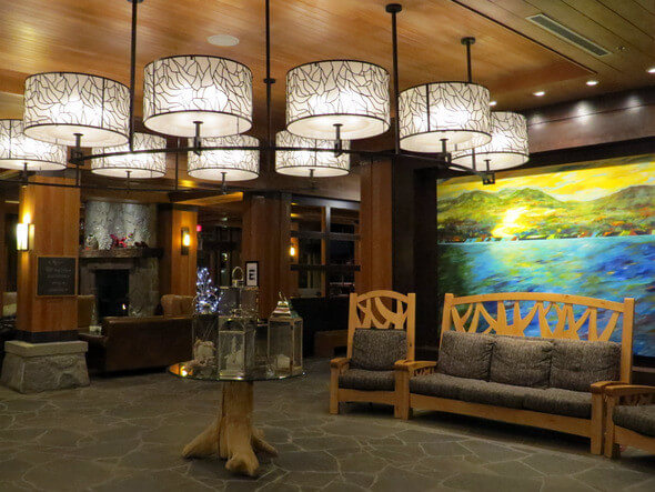 Nita Lake Lodge Lobby