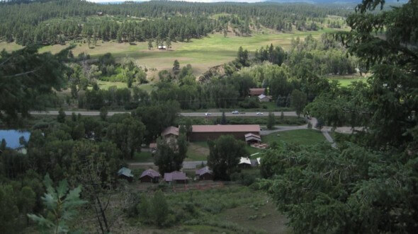 Pagosa High Country Aerial