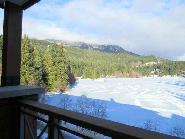 Nita Lake Lodge Studio Lakeview Suite View