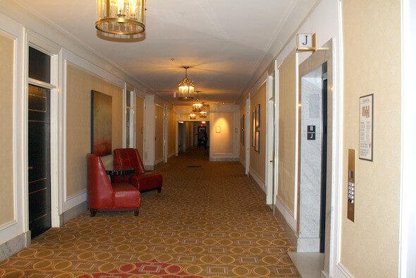 Westin St. Francis Expansive Hallways