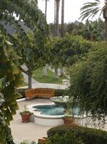 Palm Courtyard at Hyatt Park Aviara
