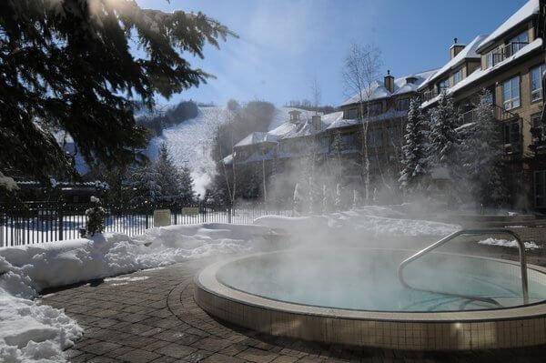 Hot tub, The Grand Georgian, Blue Mountain, Ontario
