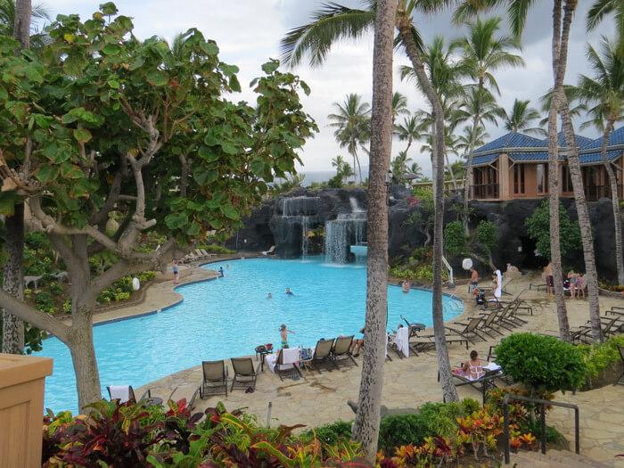 Main pool at Hilton Waikoloa Village