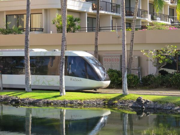 Hilton Waikoloa Village tram