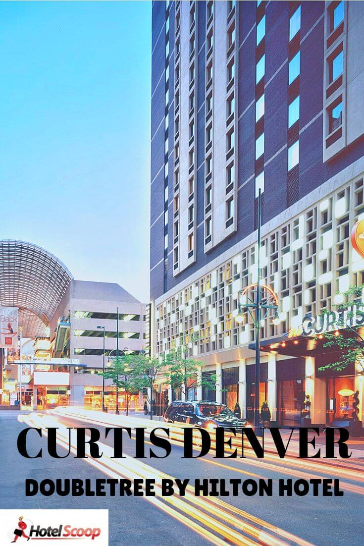 Welcome to the family friendly Curtis Denver, a Doubletree by Hilton Hotel #Denverhotel #curtisdenver