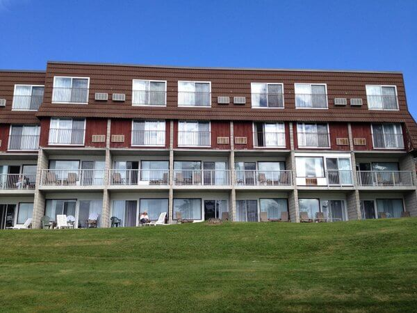 Deerhurst Resort exterior, Huntsville, Ontario, Canada