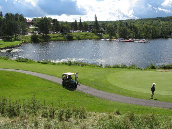 Deerhurst Resort golf, Huntsville, Ontario, Canada