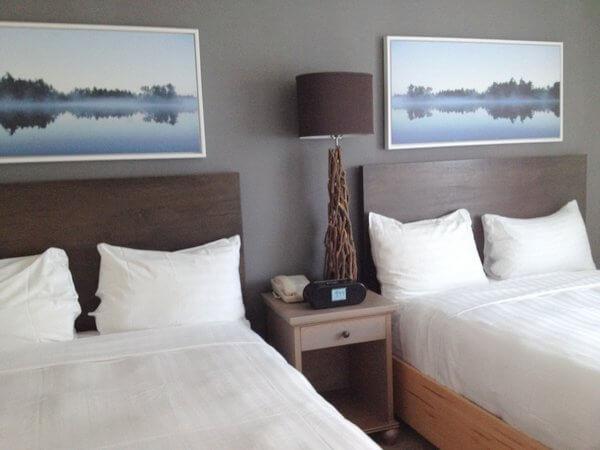Deerhurst Resort guest room, Huntsville, Ontario, Canada
