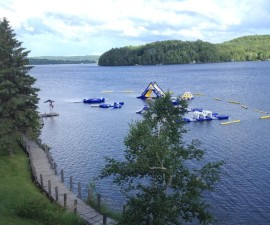Deerhurst lake views, Huntsville, Ontario, Canada