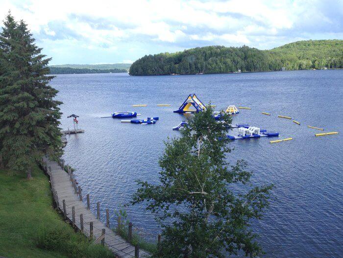Deerhurst lake views, Huntsville, Ontario, Canada