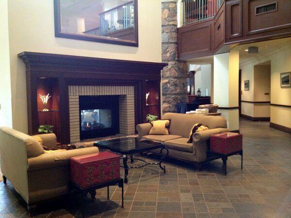 Deerhurst Resort lobby, Huntsville, Ontario, Canada