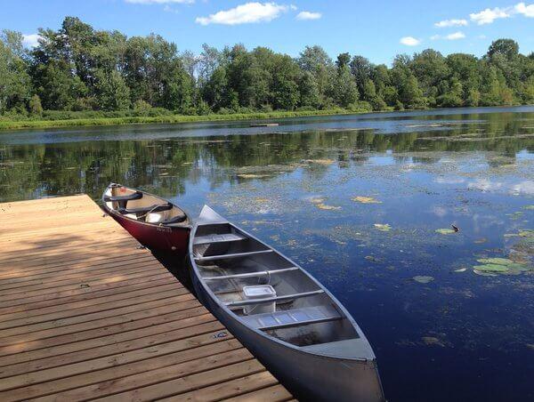 Lake, Forest Motel, Stratford, Ontario