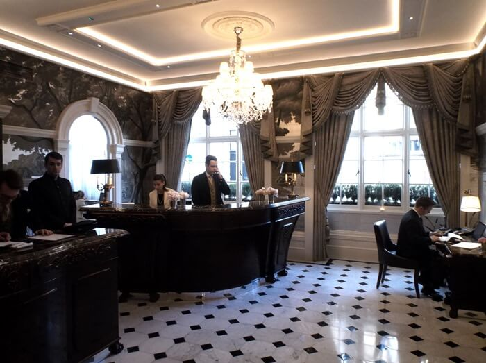 Reception at the Goring