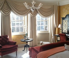 Goring Hotel room, London, England