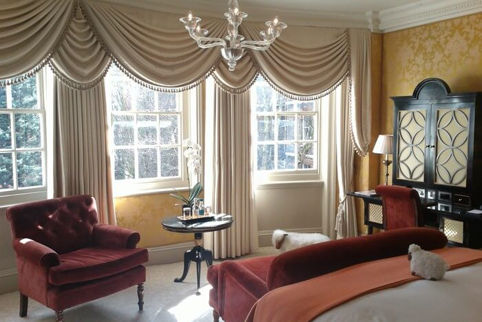 Goring Hotel room, London, England