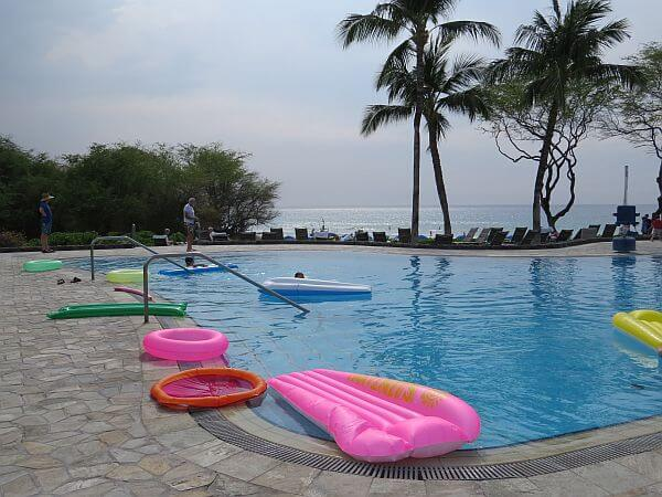 Beachside Pool at Hapuna Beach Prince Hotel