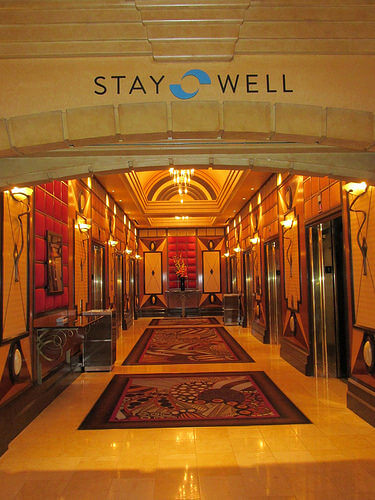 Stay Well lobby, MGM Grand Hotel