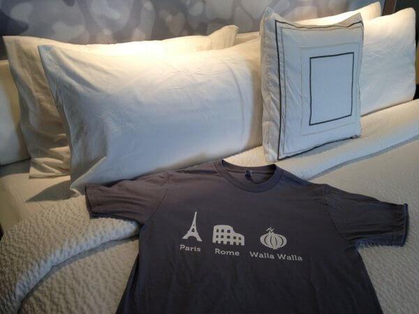 Courtyard Walla Walla T-shirt
