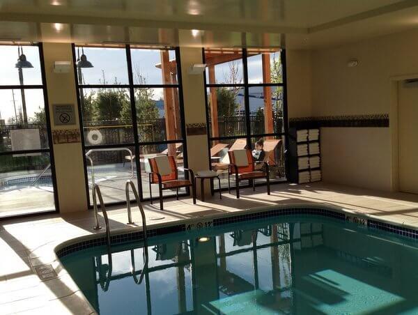 Courtyard Walla Walla pool