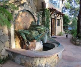 Office, The Emerald Iguana Inn