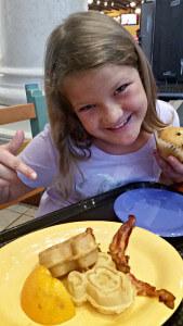 Coronado Resorts Disney Waffles