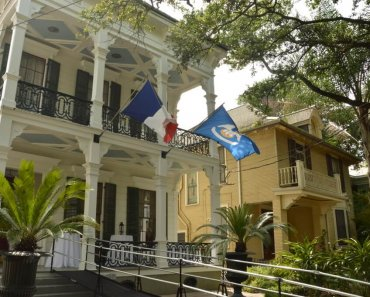 Garret Rooms & Paintbrushes at the Degas House in New Orleans