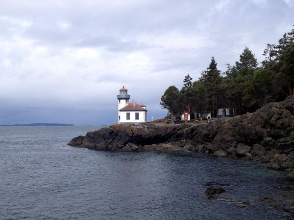 Lighthouse, Lime Kiln Point State Park, San Juan Island, WA