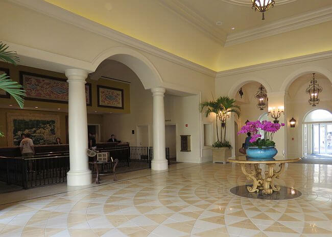 Loews Portofino Bay Hotel Lobby