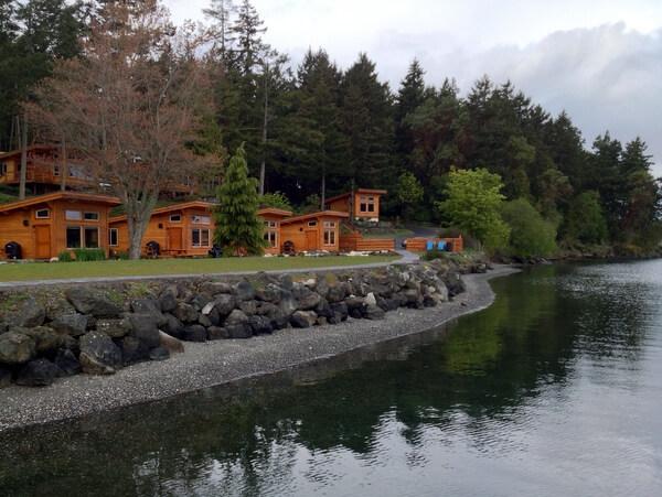 Cottages, Snug Harbor Resort, San Juan Island, Washington