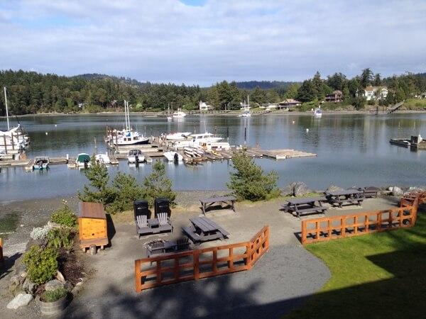 Marina, Snug Harbor Resort, San Juan Island, Washington