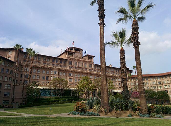 The Backyard of The Langham Huntington, Pasadena exterior