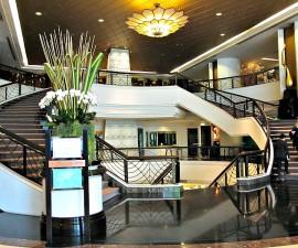 lobby of Plaza Athenee Bangkok