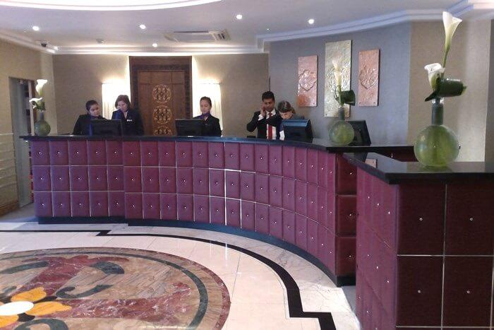Lobby at Amba Charing Cross