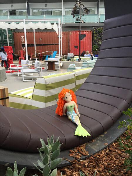 Hotel Zephyr, mermaid gigi, San Francisco