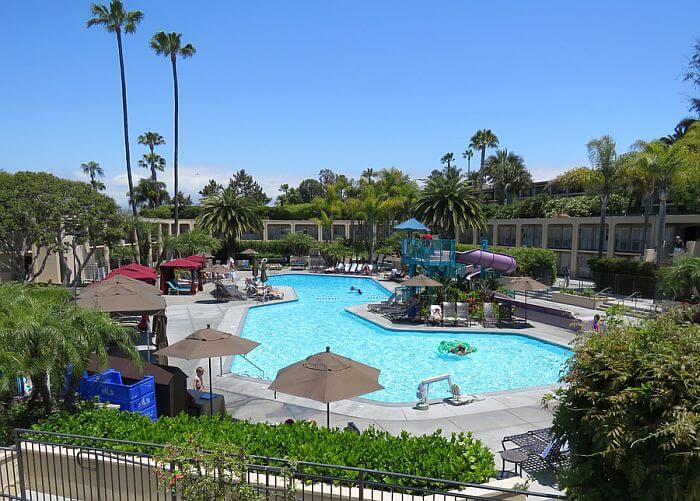 Pool With Slide Hyatt Regency Newport Beach
