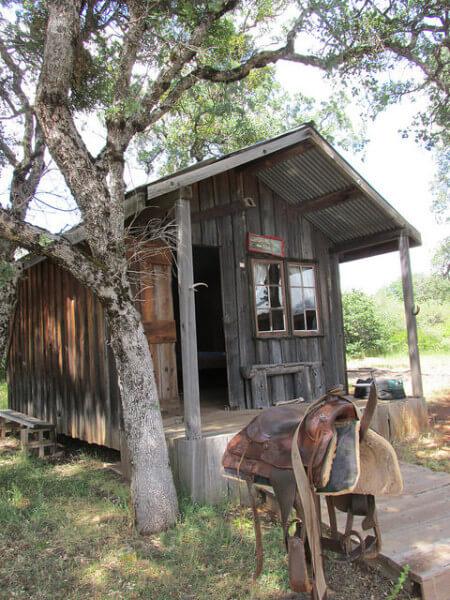 Wild Horse Sanctuary, cabin, Shingletown, California