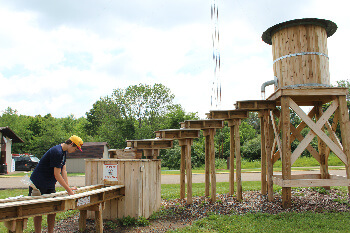 Gem mining is just one of many Salt Fork State Park activities
