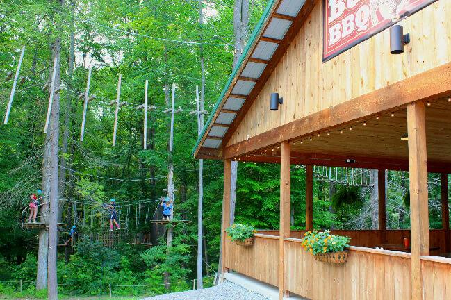 Buffler's BBQ Timbertrek Adventure Park
