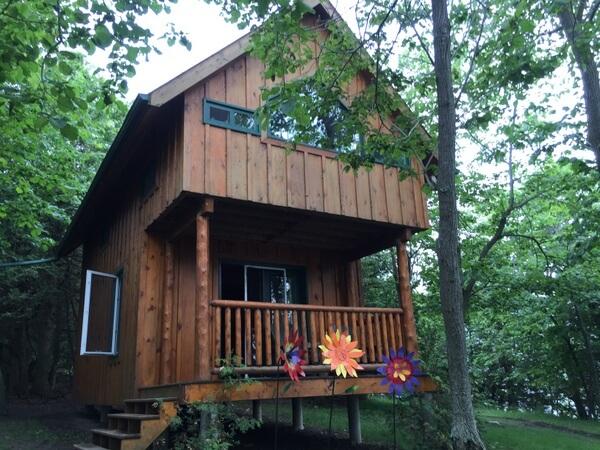 Cabin, Island Spirits, Rice Lake, Ontario
