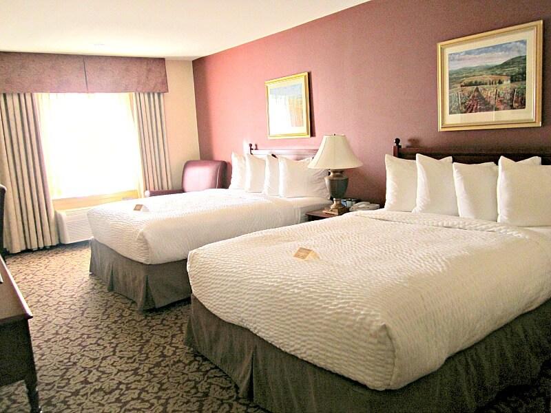 Guestroom at the Whitman Hotel, Walla Walla