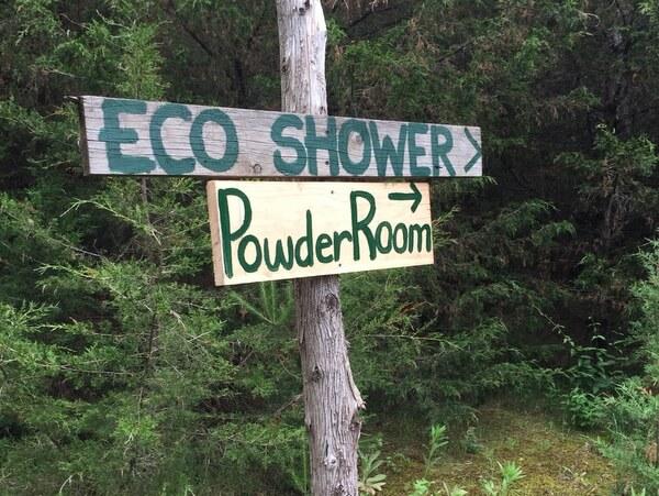 Eco-Shower, Island Spirits, Rice Lake, Ontario
